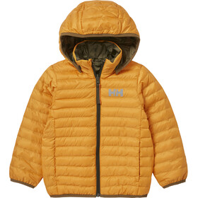 Helly Hansen Storm Reversible Insulator Jacket Kids, golden glow